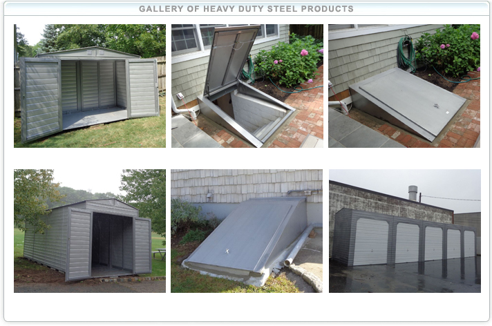 Steel Shed Picture Gallery