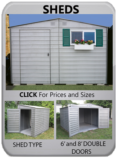 Print Page Steel Sheds Shed Options